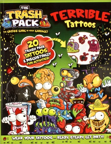 The Trash Pack Terrible Tattoos