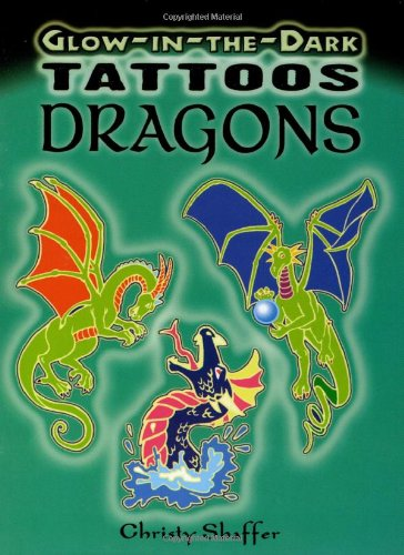 Glow-in-the-Dark Tattoos Dragons (Dover Tattoos) Reviews